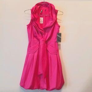 Samuel Dong NEW Pink S/L Dress Size XS